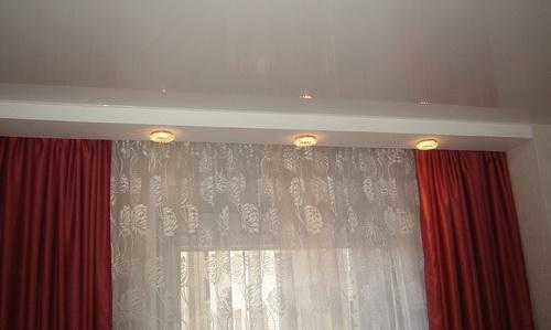 To complement the design of the room and make it a highlight will help niche for curtains
