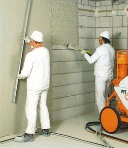 How to make a solution for plaster