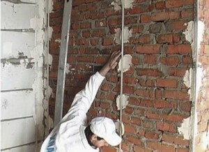 As Rotband plaster walls: the technology of preparation and application of plaster