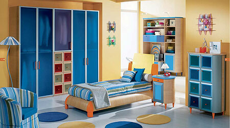 Design a child's room for two boys