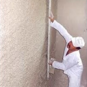Consumption of gypsum plasters: laying tiles on the mixture, a better structure