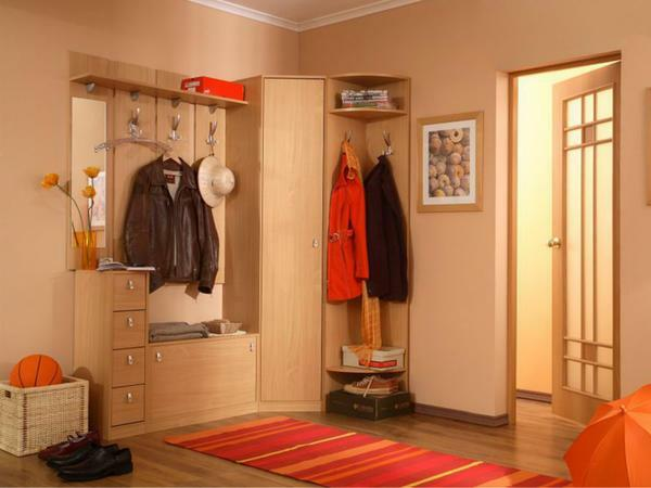 Anteroom in the corridor: a photo of ready-made sets, comfortable pictures and fashion, examples of radius and open