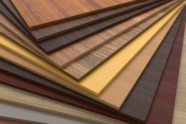 Laminated chipboard - the best material for creating a dressing room, which has a high load capacity and an acceptable price