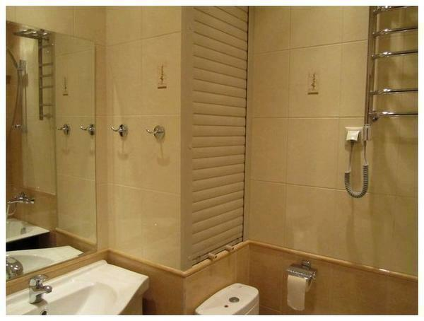 Roller shutters are great for bathroom and toilet
