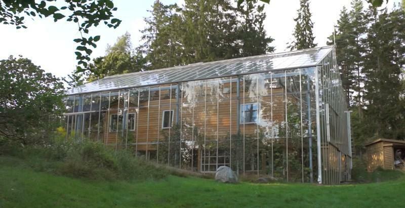 House in the greenhouse: attached reviews and new photos, Maxidom country house, private cosiness, to the wall extension