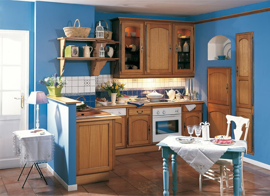 The kitchen in the French style