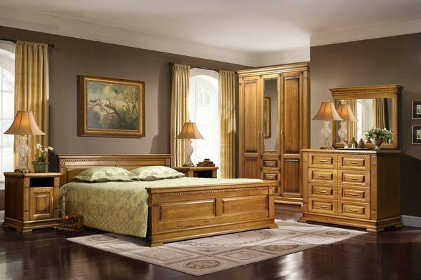 The interior is expensive and chic capable of furniture from solid oak