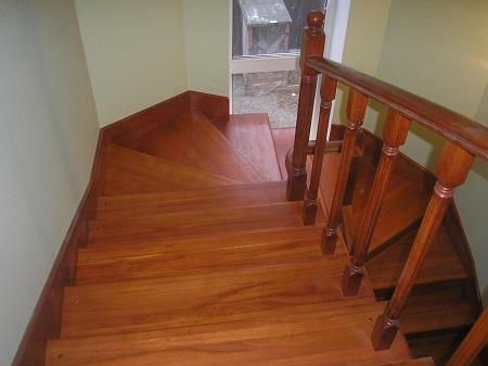 Choose a color for painting stairs should be based on the interior design