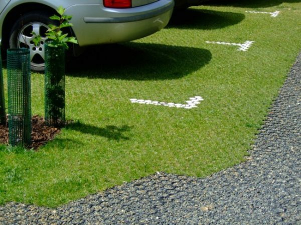 Lawn grid high strength is different, it is possible to equip even parking lot in the country.