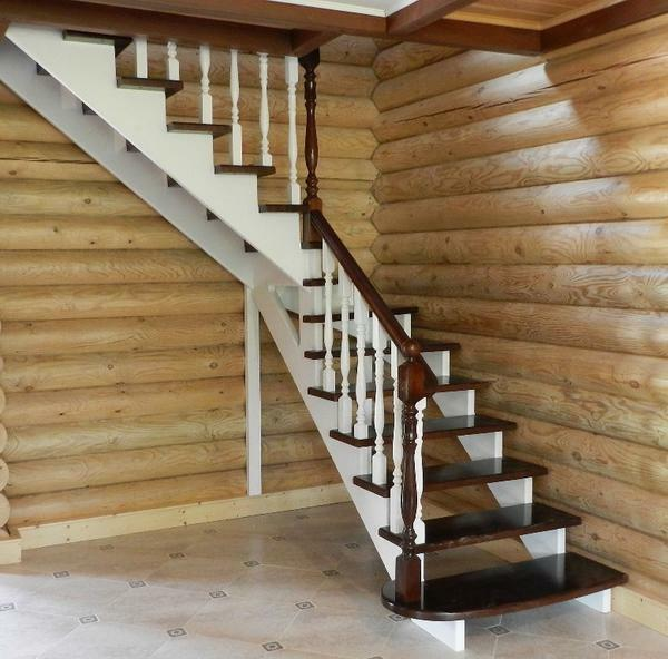 It is quite possible to familiarize yourself with the technology of making wooden stairs