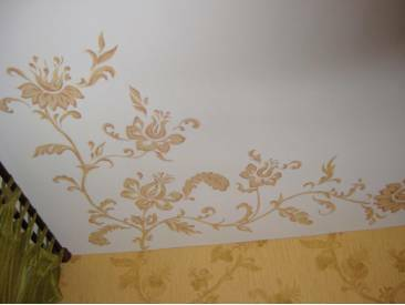 as a non-woven wallpaper pokleit