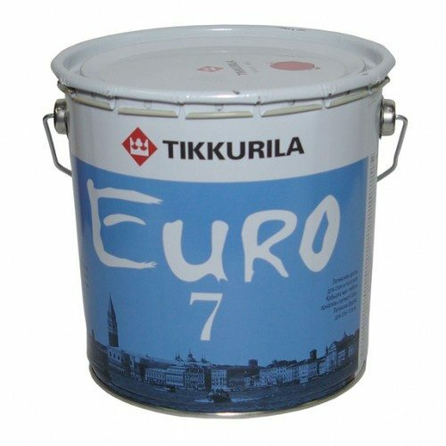 EURO 7 - high-quality latex paint from the Finnish manufacturer