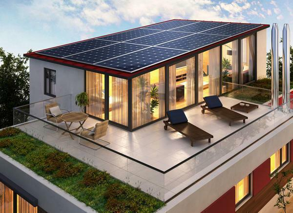 Solar panels on the roof of the house must be properly fixed