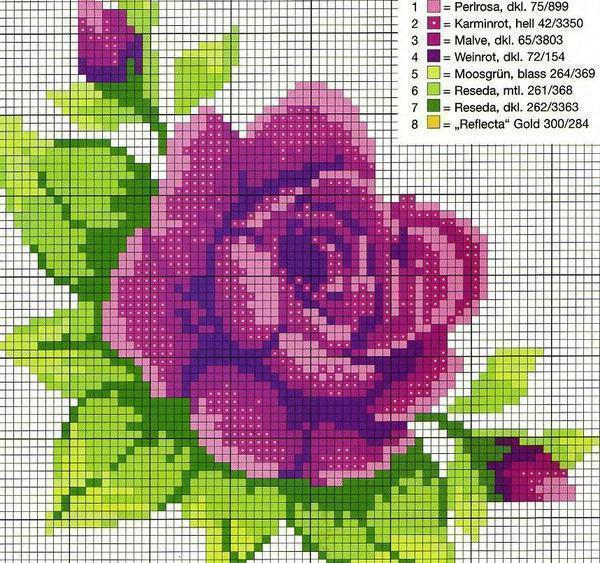 Cross stitch scheme for free: download without registration in good quality, create new, fantasy, photo