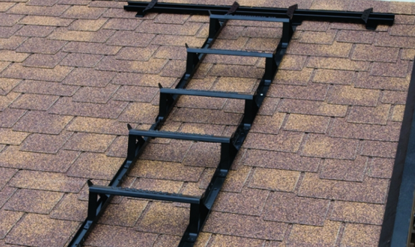 Aluminum roof ladders are very popular