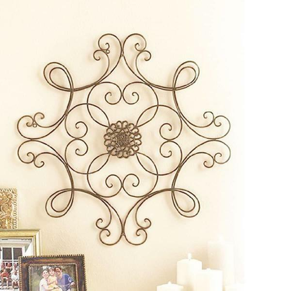 Forged panel in the form of an ornament will perfectly complement and decorate any room
