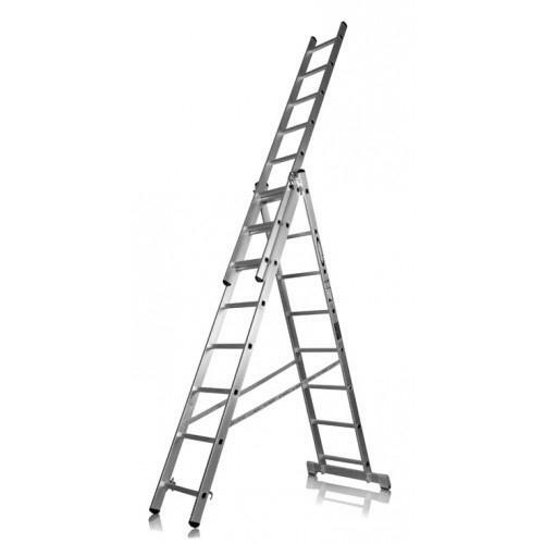Aluminum ladder can be used practically in any sphere of human labor activity