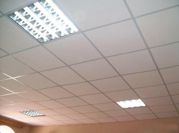 Advantages of the Armstrong ceiling can be listed for a long time, but the main thing is its completeness