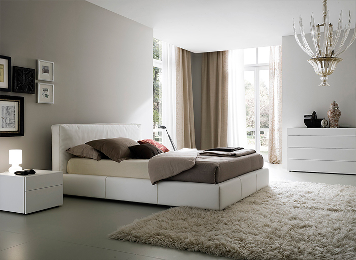 Bedroom design in classic style