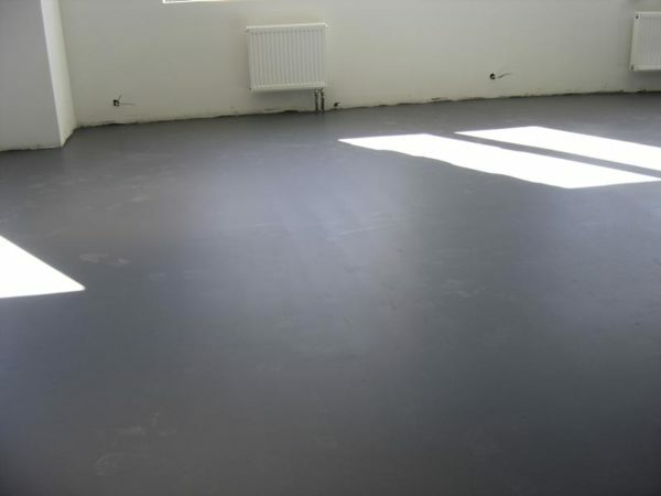 An ideal base for filling - flat screed