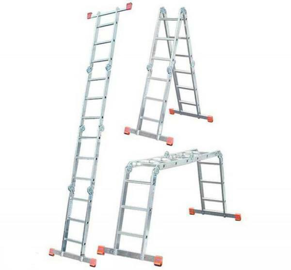 Stair-transformer 4x4: 6 and 5, 3 and 8, 7 Krause Corda, Eifel TF and Rigger 101415p, t433 and 101413p technologist