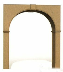 Unpainted arch of MDF