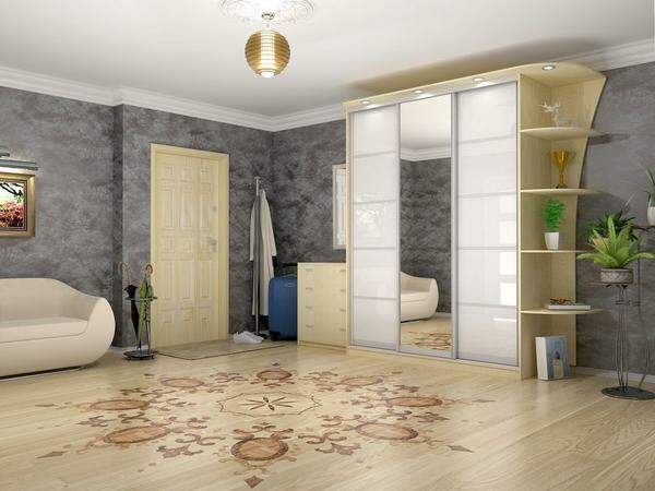 If the room is large, then a good wallpaper will be dark, cold or bright colors, and if small - light