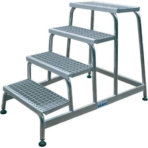 "When purchasing the ladder ""Krause"", choose steps with corrugations, which will contribute to a safer rise and fall"