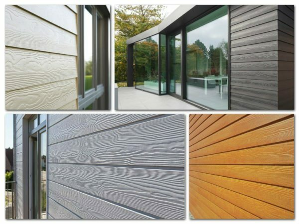 Imitation of timber for indoor and outdoor decoration: installation instructions trim, video and photos