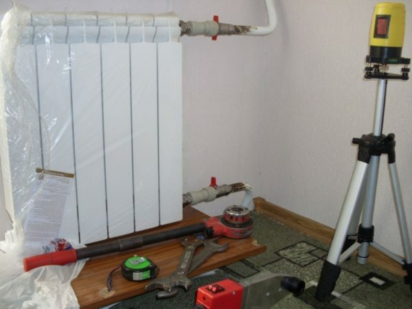 Dilute water heating and radiators can be set after the repair or decoration.