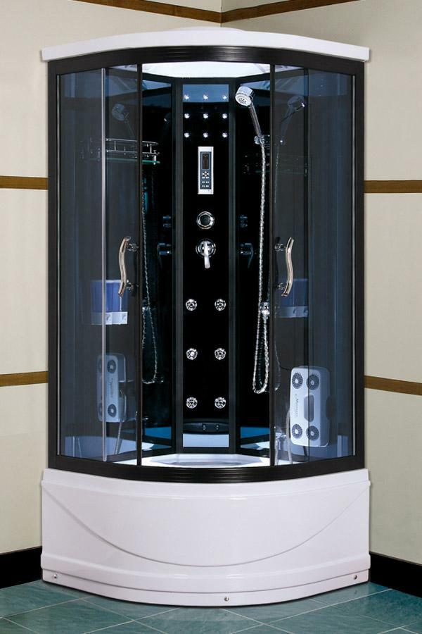 Shower enclosure - a convenient structure that allows you to save space in a small bathroom