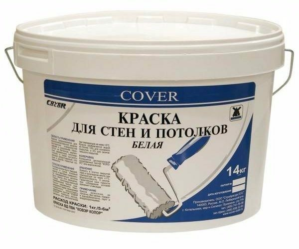 PVA paint is used only for internal works
