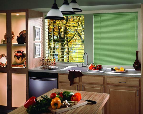 Blinds in the kitchen: photos and pictures, modern windows, stylish vertical instead of curtains, which solutions are better