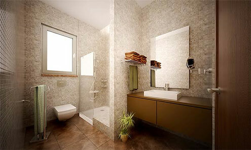 Example design bathrooms