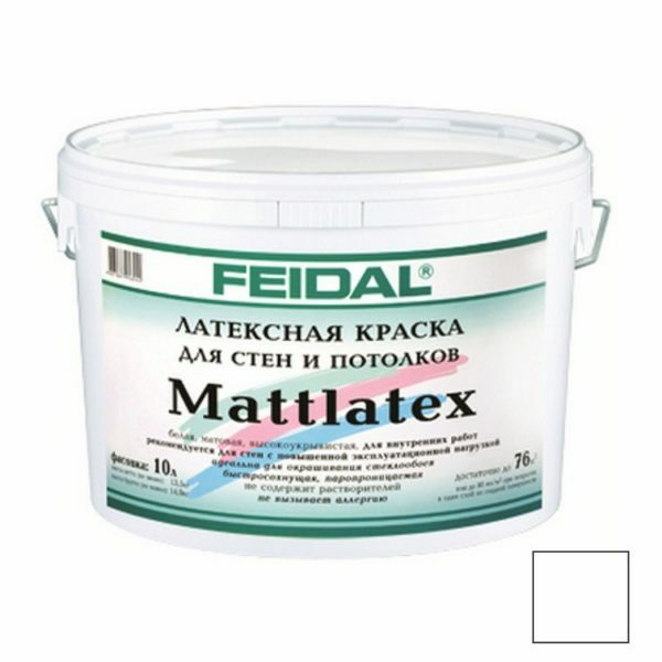 Latex paint for interior and exterior use: matte, and other kinds of what it is, video and photos