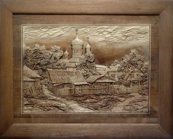 Wooden panel will add originality to your room or home