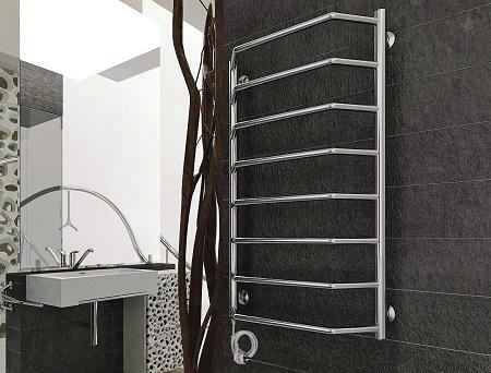 Having installed an electric heated towel rail in the bathroom, you can make it more functional