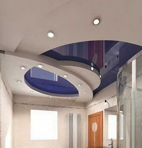 Multi-level stretch ceiling will make your room stylish and unique
