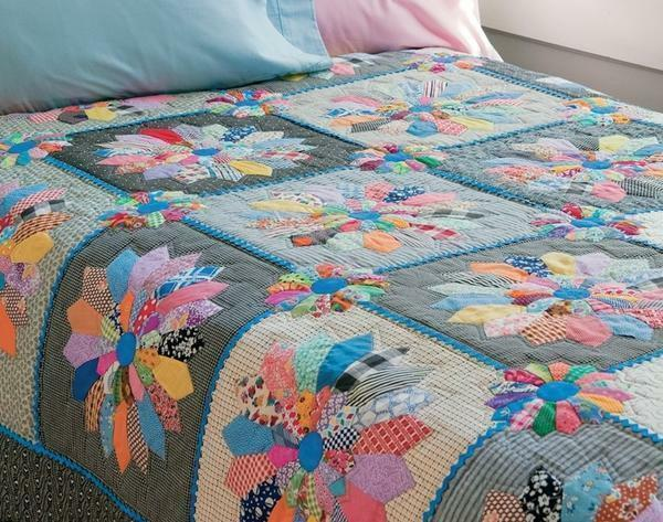 Patchwork quilt your own scheme with photo: how to stitch, master class for beginners, step by step instruction, video how to make