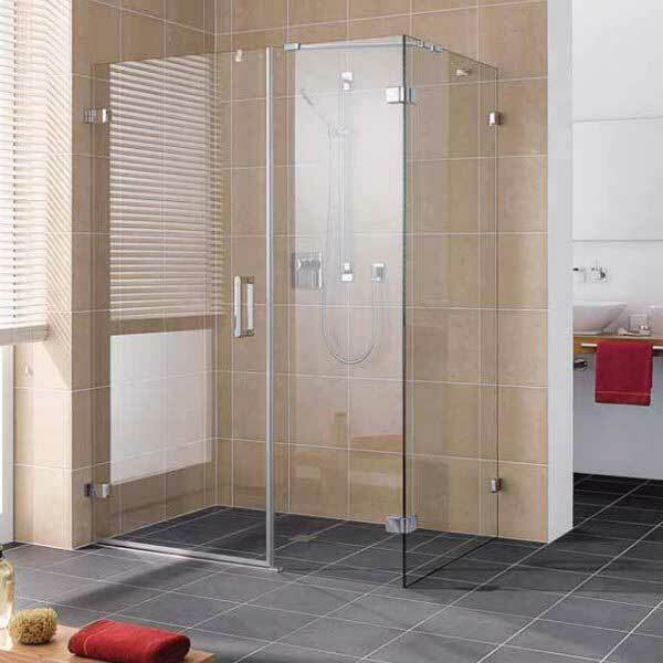 Shower enclosures without glass tray with the door: assembly instructions, videos and photos