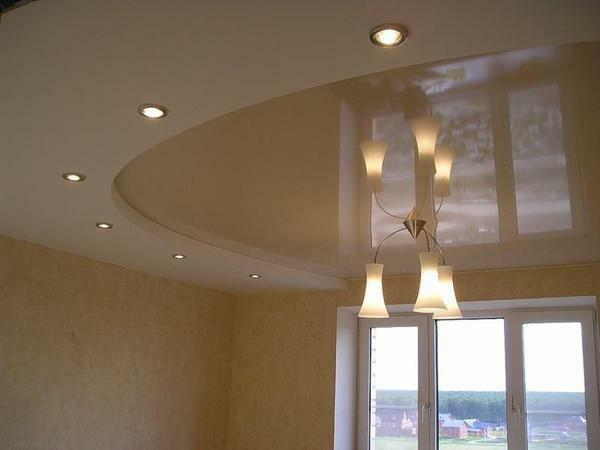 Fastening point lamps to the ceiling is a process that does not require much time and effort