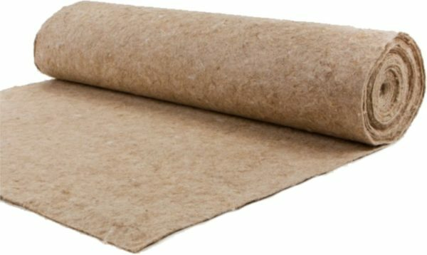 Jute substrate is much stiffer than the embodiment of cork material
