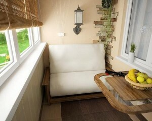 How to decorate a balcony inside: how best to revet walls and how to insulate