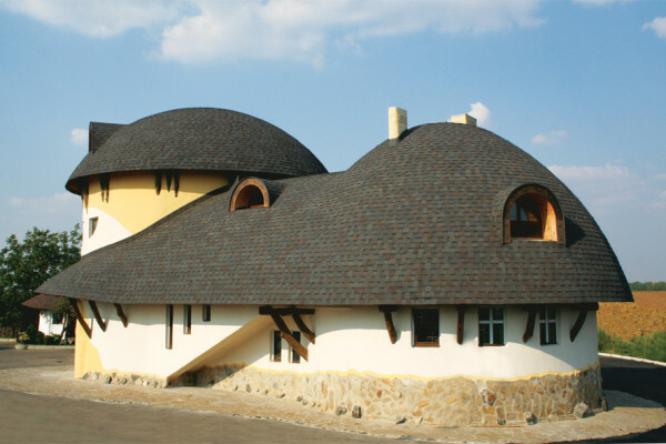 Round roof can be covered only shingles