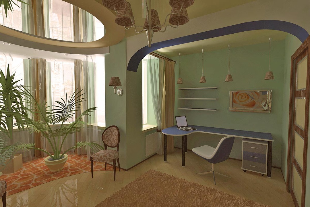 Design of the room for a teenage boy: Furnishings 2 children 10 years old