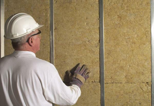 Mineral wool - an excellent moisture proof material, preventing condensation on the suspended ceiling