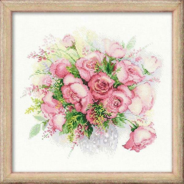 Each separate embroidery kit includes a beautiful design, threads and other materials