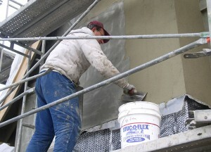 Facade plaster: application technology with their own hands