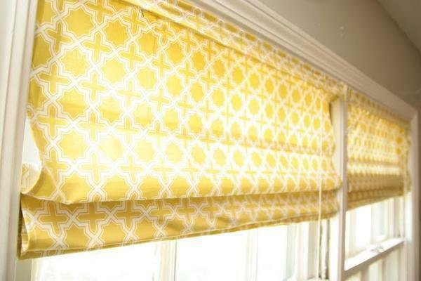 Roman blinds: curtains with their own hands, what can be done from the old base, new crafts in class, photo and remake
