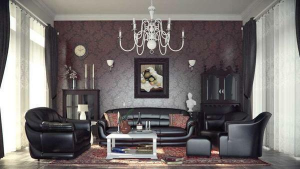 Retro style in the design of the living room does not lose its relevance, because it not only brings some zest to the design of the room, but also emphasizes the individuality of the owner